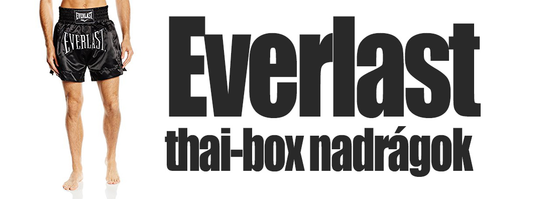 Everlast thai-box nadrág